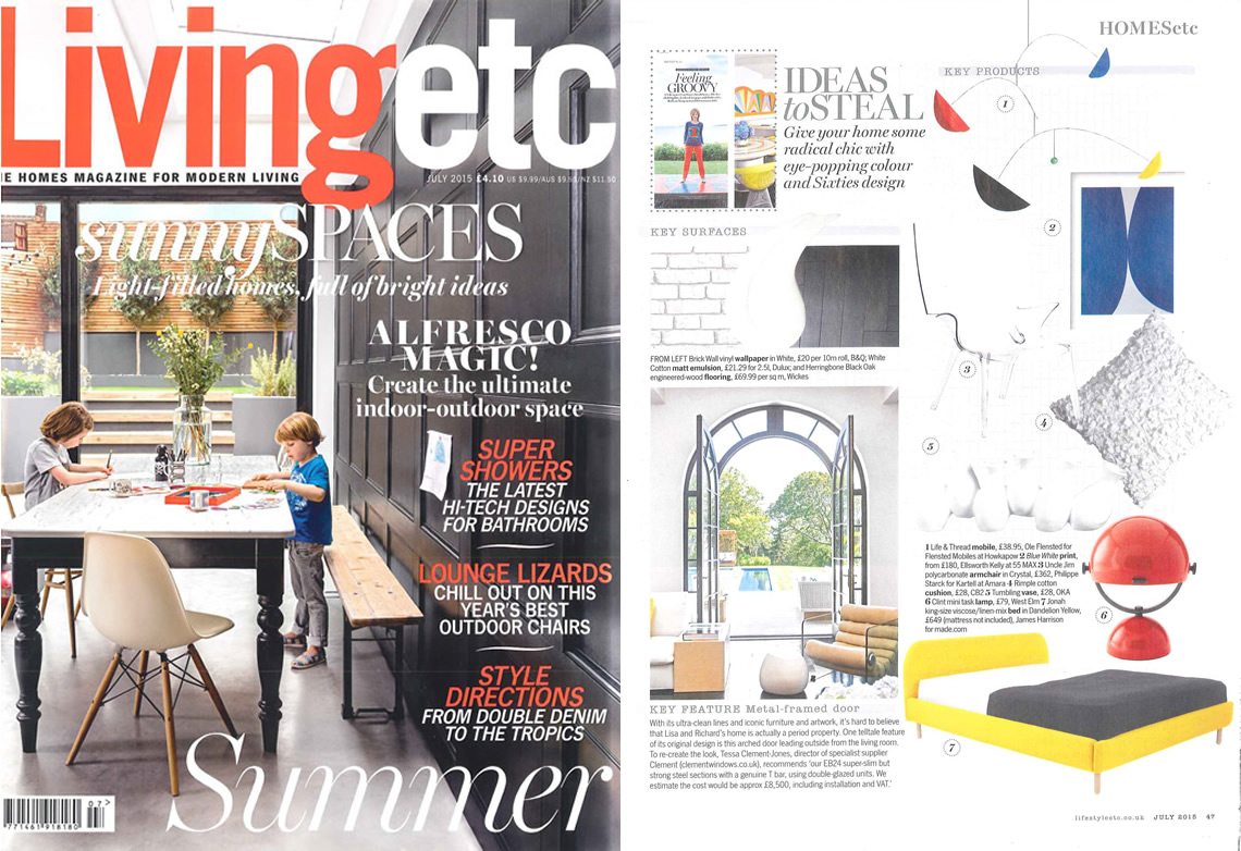 Living Etc July 2015