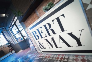 Clement steel screen at Bert and May London
