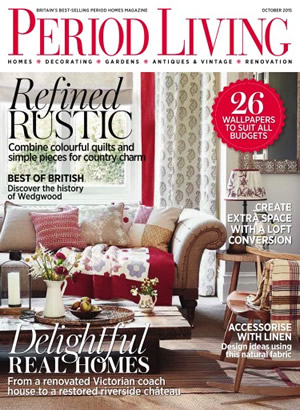 Period Living October 2015 Magazine With Metal Windows