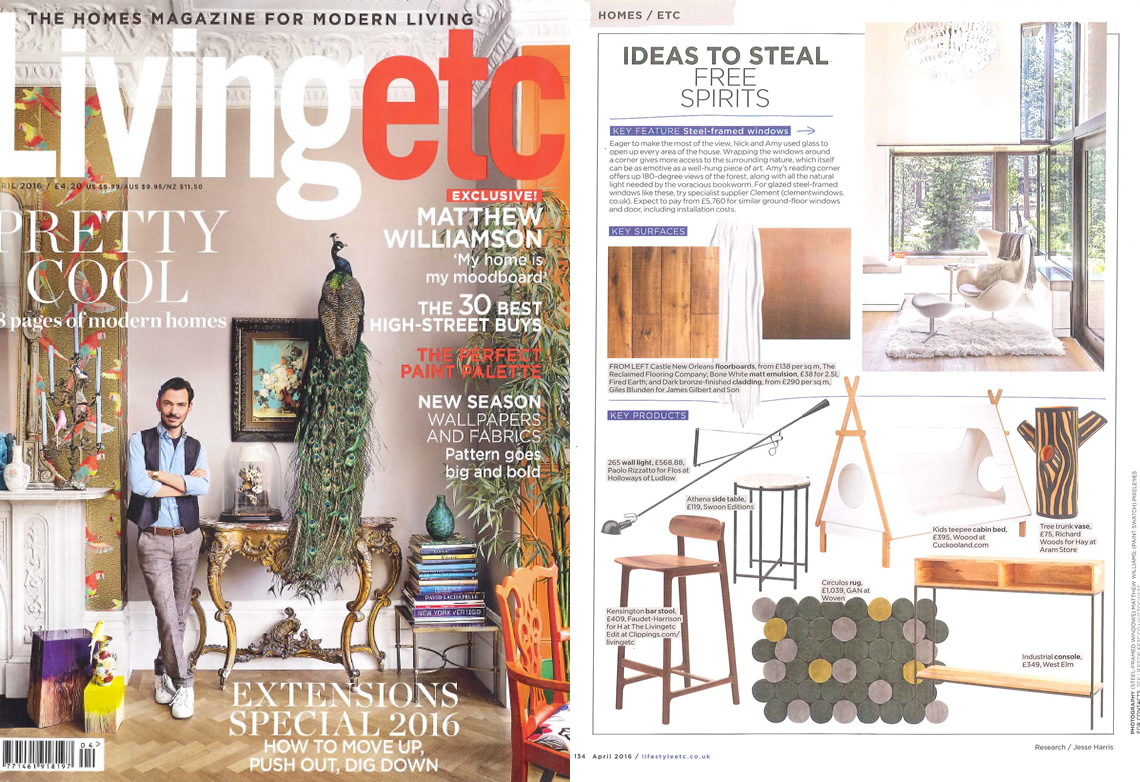 Living Etc April 2016