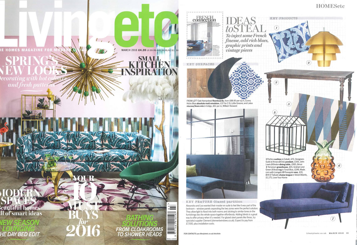 Living Etc March 2016