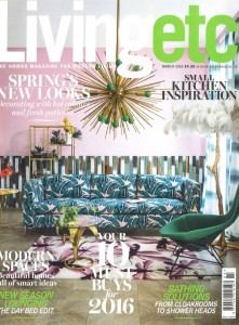 Living Etc Magazine March 2016 Featuring Clement Steel Windows