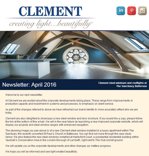 Clement Newsletter April 2016