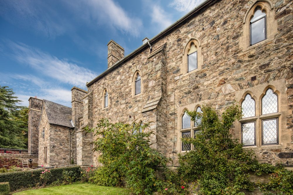 3 The beautiful Grade ll Listed Mount Saint Bernard Abbey with Clement EB20 steel windows