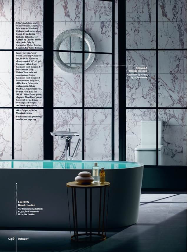 Clement Windows in Wallpaper Magazine July 2016