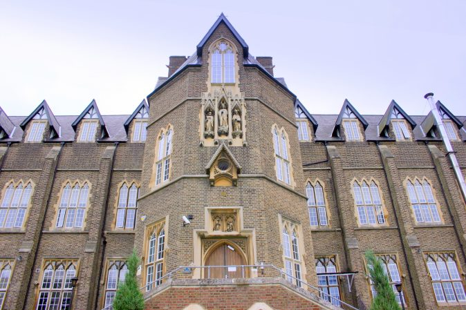 2 Virgo Fidelis Convent School in Upper Norwood Renovated with superb replica cCement EB24 Steel Windows