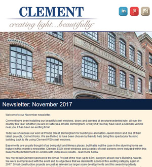 Clement Newsletter November 2017