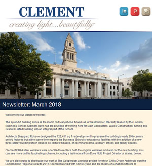 Clement Newsletter March 2018