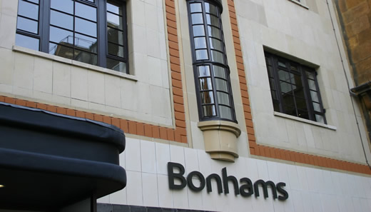 Bonhams Auction House bids...and buys windows by Clement!