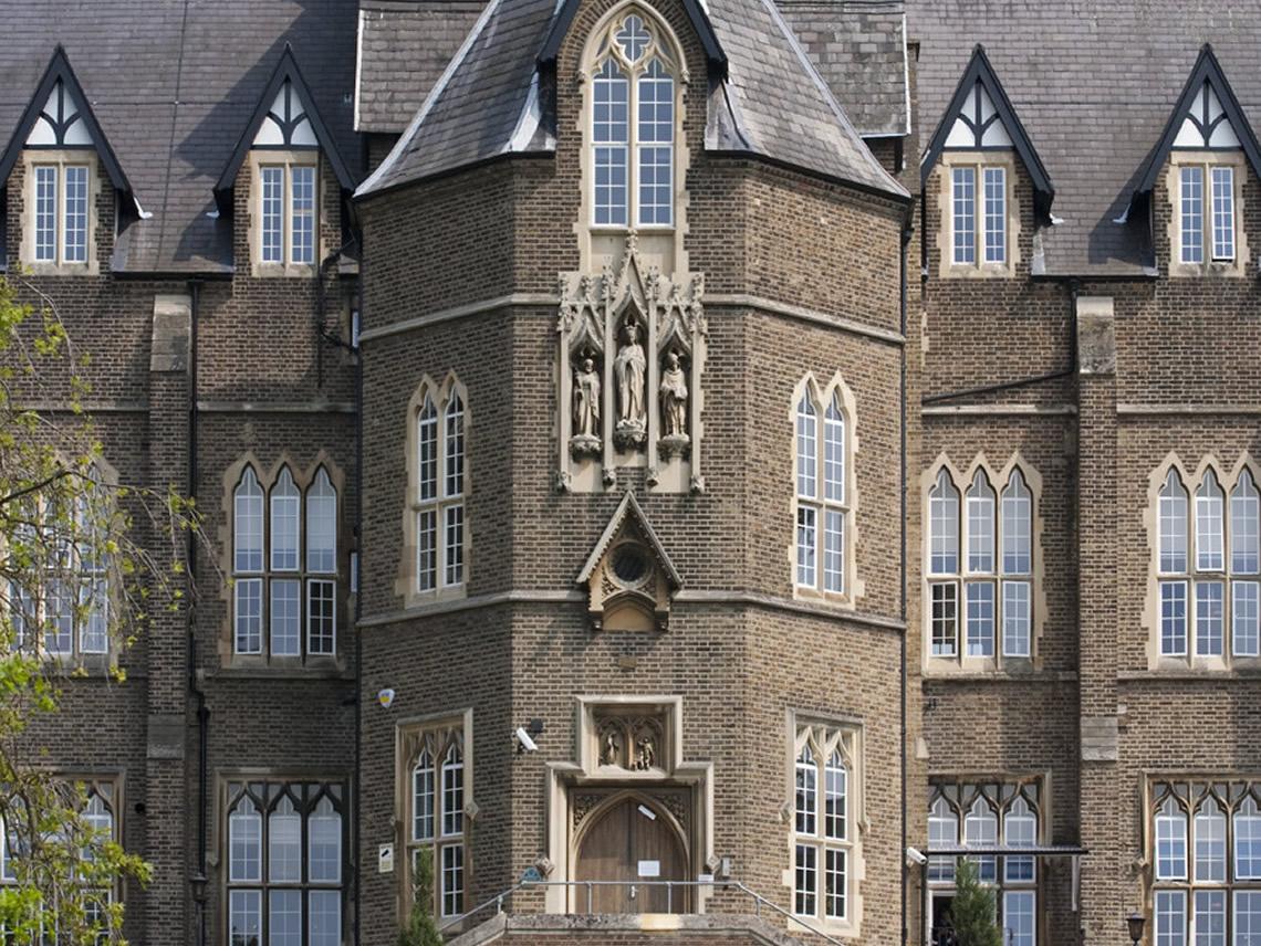 Case study: Academic Buildings - Virgo Fidelis Convent School - Upper  Norwood