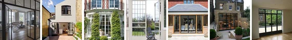 Clement Windows' Steel Doors and Screens For Residential Clients