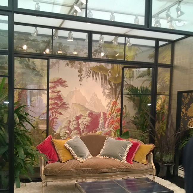 de Gournay and Clement collaborate for Decorex 2014