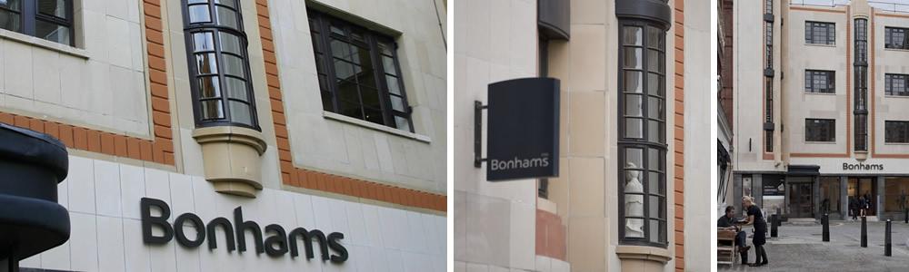 Bonhams Auction House, New Bond Street