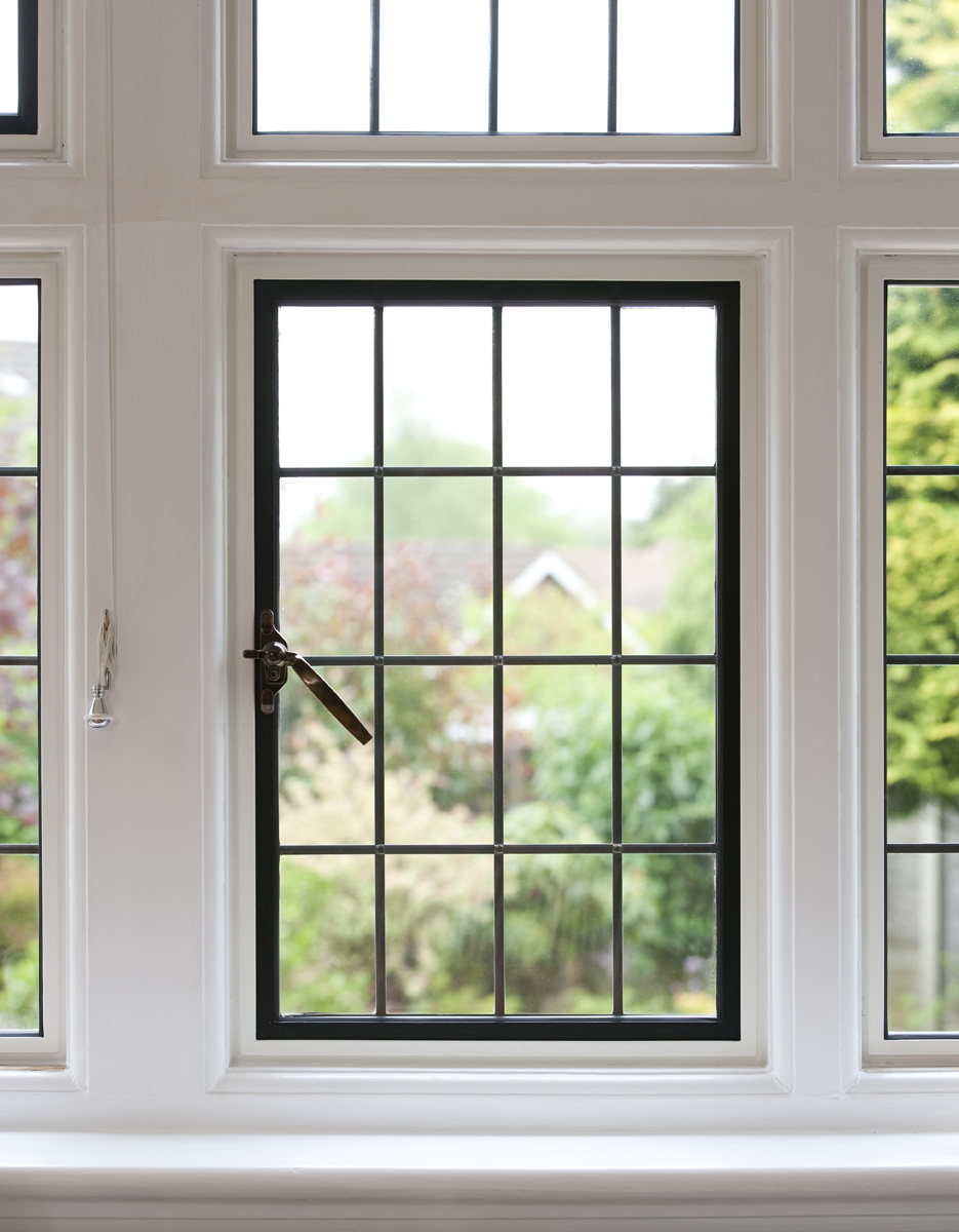 EB24 steel windows by Clement bring a modern specification with traditional looks