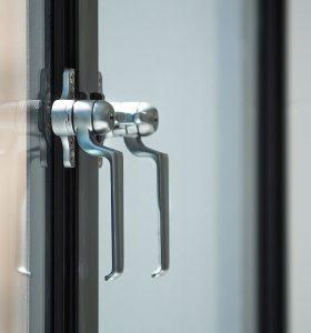 EB24 metal window multi point locking system