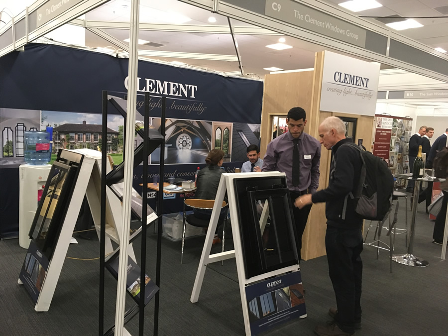 Clement Windows at The Listed Property Show 2017