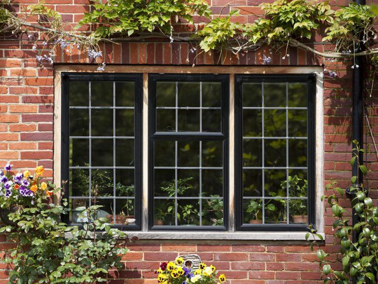 Steel window replacement example