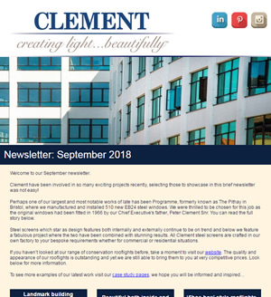 Clement Newsletter September 2018