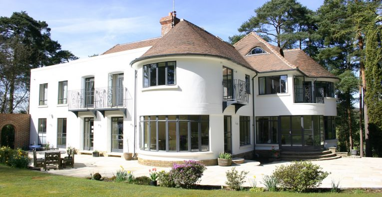 Residential home in North Downs with Clement Windows