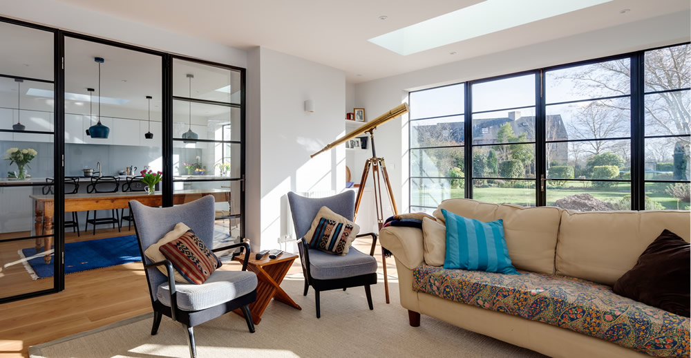 A private residence in Cambridge using our thermally-efficient EB24 Clement Windows range