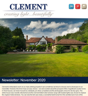 Clement Newsletter November 2020