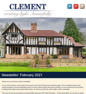 Clement Newsletter February 2021