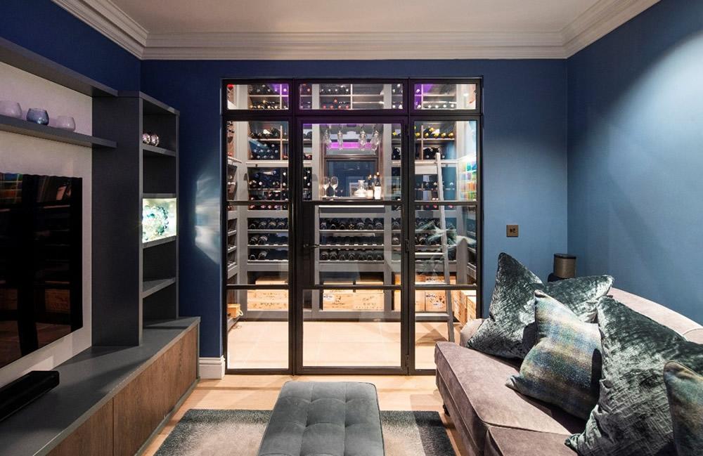 Wine Room Steel Windows