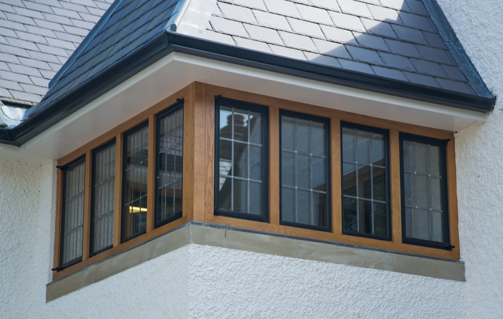 Residential property in Haslemere, Surrey using Clement Windows