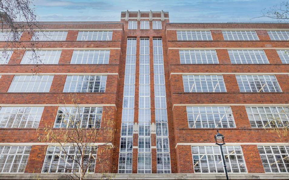 The exterior of Douglas House in London's West End with the new Clement EB24 windows